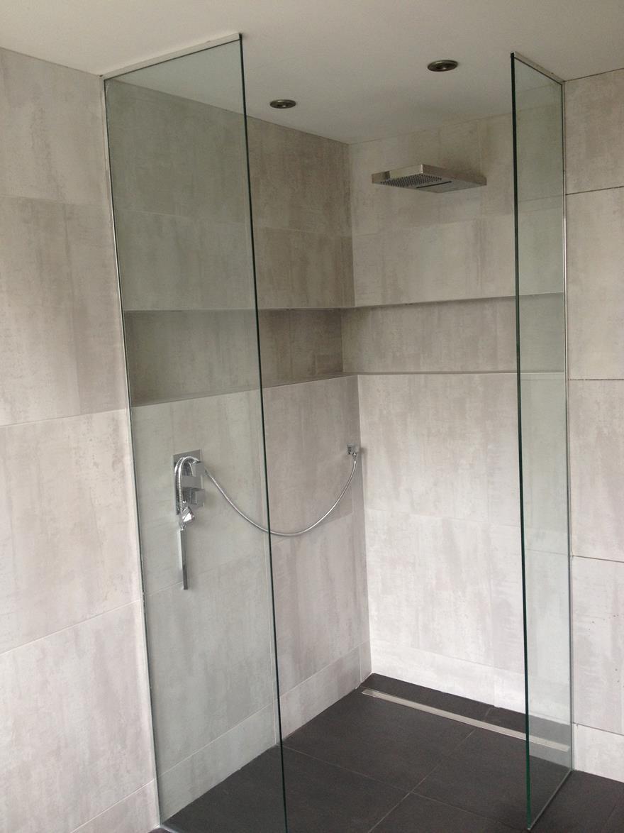Frameless Shower Enclosure Pic Shower Doors Seashore Glass
