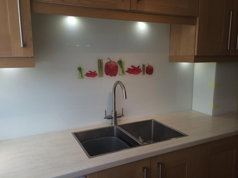 Personalised Kitchen Splashbacks - digitally printed | Kent